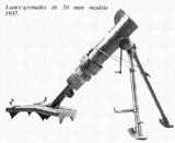 50mm Brandt mortar model 1937.