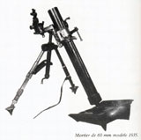 60mm Brandt mortar model 1935.