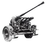 37mm Rheinmetall AA gun model 1939.