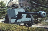 75mm Pak 40 antitank gun model 1940.