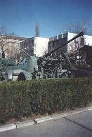 Rheinmetall 37 mm model 1939 AA gun in the courtyard of the National Military Museum